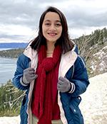 Mechanical engineering female grad student