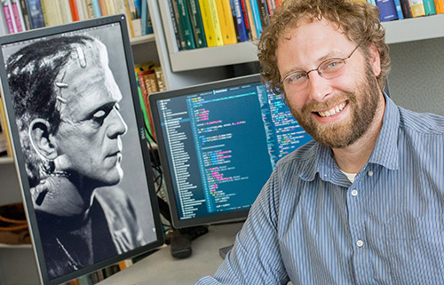 Professor Justin Yeakel and a colleague at Dartmouth explored the ecological themes of  the novel 'Frankenstein.'