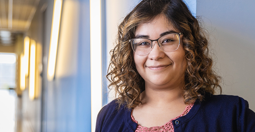 Psychological Sciences Ph.D. student Maria Ramirez Loyola is working to understand why some people are better equipped than others to handle stressful experiences.