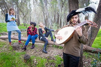 UC Merced is teaming up with the University of Warwick to present 'Shakespeare in Yosemite.'