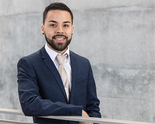 Graduate student Jovo Velasco earned a fellowship through the UROC-H Public Humanities Grant made possible through a diversity initiative grant from the Andrew W. Mellon Foundation.