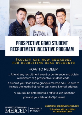 Graduate Student Recruitment Incentive