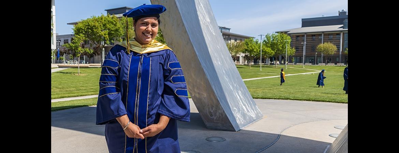 Ph.D. graduate Simranjit Grewal