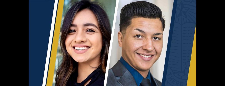 Bianca Garibay and Ruben Lemus are graduates of the Gallo Management Program.