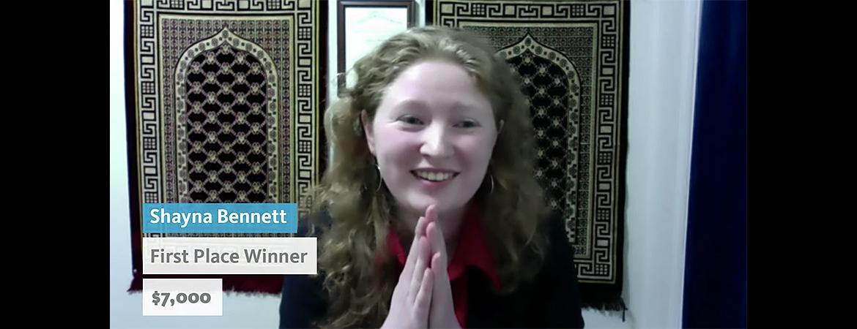 Applied Math Ph.D. student Shayna Bennett